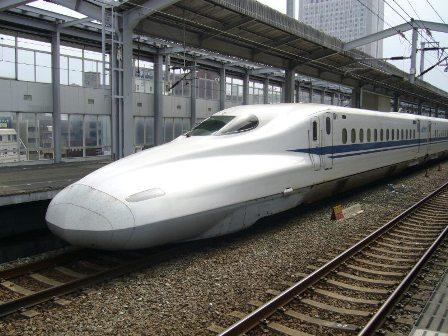 N700系新幹線(試運転)